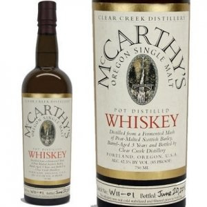 McCarthy's Oregon Single Malt (750 ML) liquor