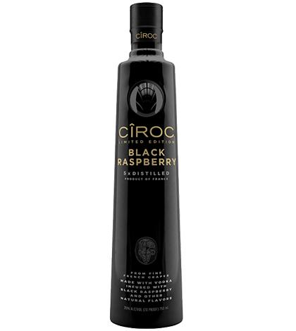 CÎROC Black Raspberry Vodka 750ml liquor