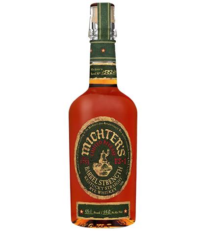 Michter's US1 Barrel Strength Rye Limited Release 750ml liquor