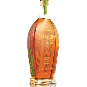 Angel's Envy Rum Cask Finished Rye Whiskey 750ml liquor