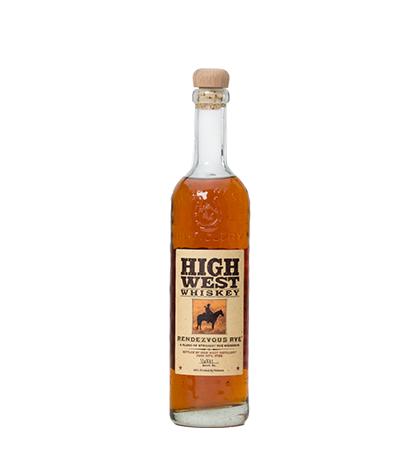 High West Rendezvous Rye Whiskey 750ml liquor
